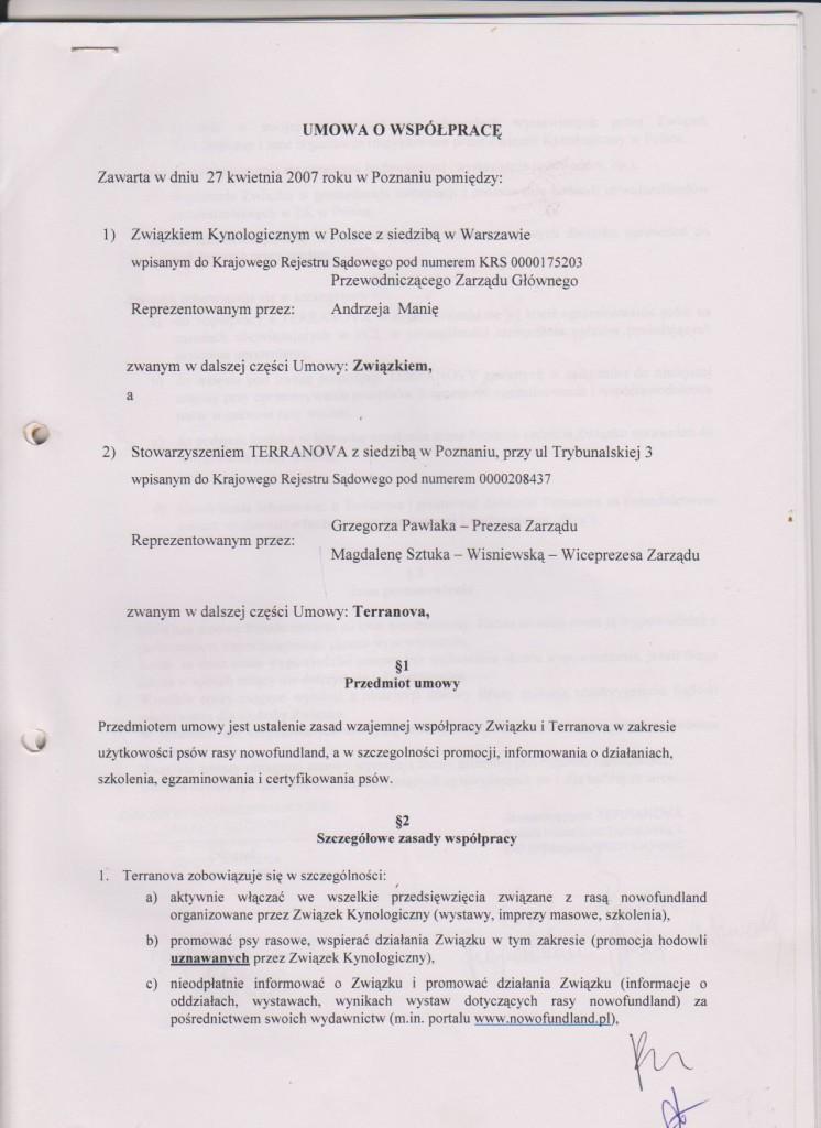 porozumienie z ZG ZKwP str. 1